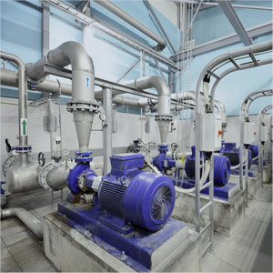 Pumps, fans, cooling tower,…